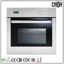 Best quality newest sliver gas cooking ranges with electric oven