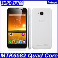 "Original ZOPO ZP700 MT6582 Quad Core Mobile Phone Android 4.2 OS 4.7"" IPS Screen 8mp Camera Dual SIM 1GB RAM 4GB ROM 3G WCDMA"