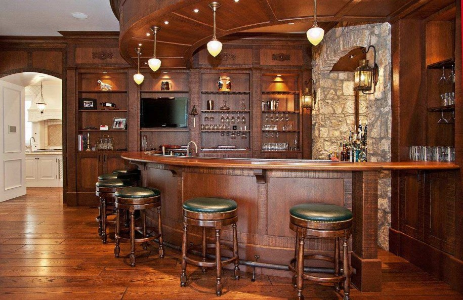 Custom Made Commercial Wine Bar Furniture For Displaying Wine View