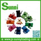 Best selling new pet product dog poop bag dispenser with dog poop bag