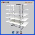 premium blanco moderno mdf estante de exhibición para tienda