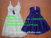 2015 cream quality used evening ladies dresses whole sale