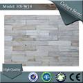 Sa- w14 50x200mm paisajismo blanco chapa de piedra de los precios