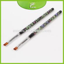 Top quality best seller professional cosmetic makeup nail art gel brush for girls beauty(Gel Brush CN-1-12,)