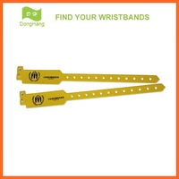 DH-W001-B professional factory personalized barcode wristbands for activities