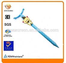 stationery metal ball pen hang chain pendant