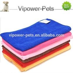 Water Absorption Dog Bathing Towel Multi-Purpose Soft Microfiber Pet Towel Color Quick Dry Cat Towel