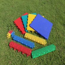 Professinal Manufacture ourtdooranti-slip modular interlocking portable used basketball flooring with excellent quality for sale