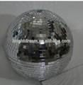 30cm bola de vidro espelho espelho reflector bola girar de salão de baile de casamento