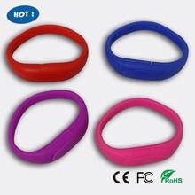 4GB Silicon Wristband Cheap Bracelet USB Flash Drive