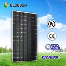 Bluesun 25 years warranty 36v 280watts solar panel price