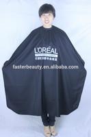 salon wear cape,TAFFETA fabric