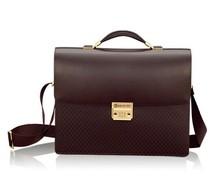 2015 wholesale polo hight quality waterproof custom leather men's bag