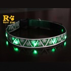 Wholesale Christmas Flashing Battery Removable Dog Collar LED
