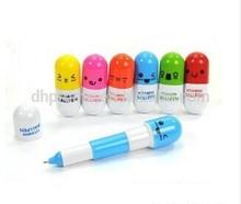 Promotional Novelty Pills Shape Folded Ballpoint Pen
