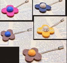 wedding fabric flower brooch for man use