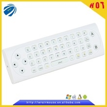 2.4g high quality fly air mosue keyboard with remote control