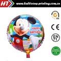 """Hot 18"""" mickey rodada folha balões festa de aniversário decoração"""