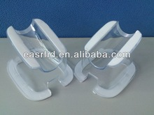 Clear Acrylic Document Display Stand Holders/Bracket With White Rubber For Mobile Phone/Electronic Device
