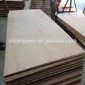 venda quente melhor preço compensada okoume madeira com madeira de álamo núcleo de eucalipto