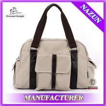 Alibaba express high quality korean canvas bag wholesale fashion unisex handbag sale online