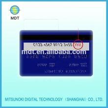 golssy / matte surface plastic pvc card printing
