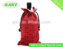 Velvet Material and Promotion Industrial Use velvet wine gift bags