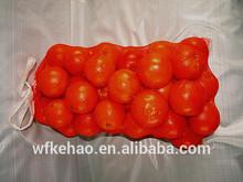 Orange mesh bags/large plastic orange cheap mesh bag