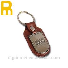 HOT !!! leather keychain /black leather frame photo key ring / fashion nice pu key tag for advertising