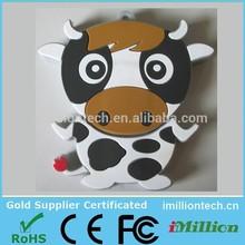 OEM COW USB flash drive, cow usb drive, cow pen drive wholesale