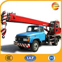 China Made Telescopic Boom 8 Ton Truck-Crane_Lift