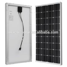100W solar panel mono 12V solar generator