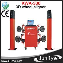 CE original LAUNCH KWA-300 3d alloy wheel repair alignment gauge equipment for tire
