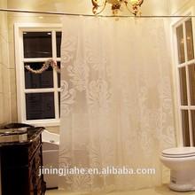 Popular 2013 folding PVC shower curtain