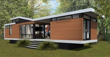 2014 movable container villa,holiday container house,modular holiday villa container house