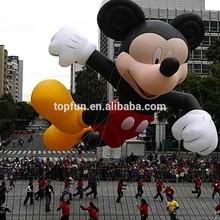 Cute giant inflatable air cartoon fly to the sky, cartoon balloon