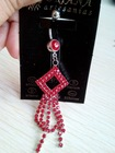 Stocking!! Sexy Crystal rhinestone claw chain jewelry Charming Dangle Cheap Unique Navel Belly Button Ring Body Piercing Jewelry