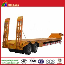 Semi-Trailer Type 2/3 Axles 60 Tons Lowbed Trailer/Dolly Trailer