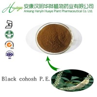 100% pure natural low price and high quality Black cohosh P.E.