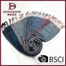 Cheap Custom Design Popular viscose scarf rayon shawl
