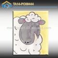 Texture moutons. peinture étirée