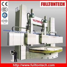 CK52 Sereis Heavy Duty Double Columns Vertical CNC Lathe Twin Turret