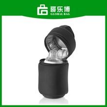 Handle Neoprene Material Single Insulated Bottle Bag