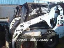 used skid steer , backhoe loader BOBCAT S185 original