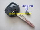 HO motocycle key with ID46 chip, HO transponder chip key ,car keys
