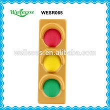 PU Promotional Gifts Traffic Light Foam Shape Stress Toy