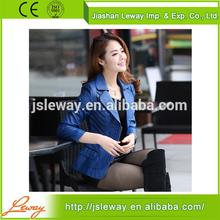 PU leather jacket for women latest design leather jacket
