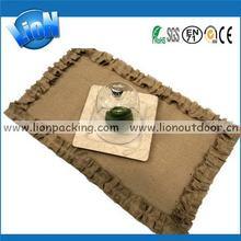 Durable antique small tree burlap bag
