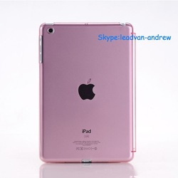 Fashionable Multi Color High Quality Mini Crystal Clear Case For Ipad Mini