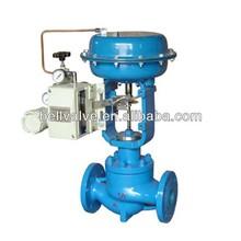 Pneumatic flow and pressure control valve